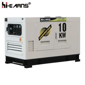 Silencieux 10kVA Groupe électrogène diesel refroidi par eau (GF2-10kVA)