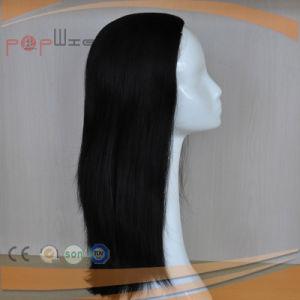 人間の毛髪の終えられた落下かつら(PPG-l-01028)
