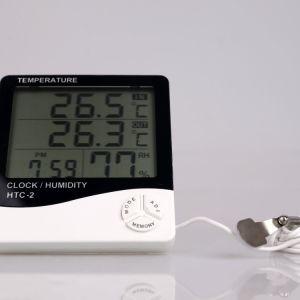 Водонепроницаемый цифровой гигрометр-термометр заводская цена