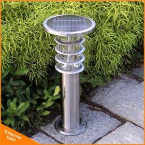 1つの屋外の太陽エネルギーライトLED芝生の庭ライトのすべて