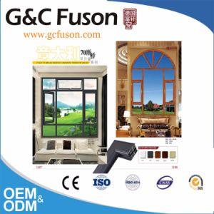아크 디자인 알루미늄 열 틈 여닫이 창 Windows