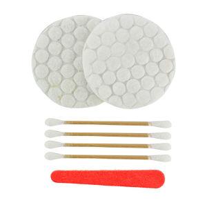 Kit di vanità del germoglio del cotone del rilievo di cotone del kit di vanità dell'hotel