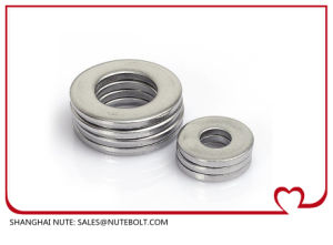 Rondelle plate en acier inoxydable/DIN125/l'unc/Bsw/ASTM M2.5