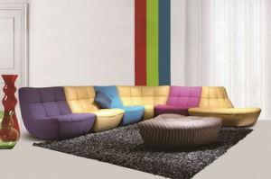 ヨーロッパの現代多彩なファブリック大きい様式のソファーL8813