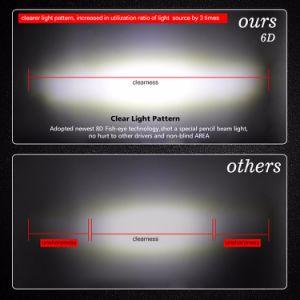 De nieuwe Duim van de Reflector van het Ontwerp 6D Super Slanke 180W 37 van LEIDENE van de Auto van de Rij van de Weg Dunne Enige Lichte Staaf voor het Auto Drijven
