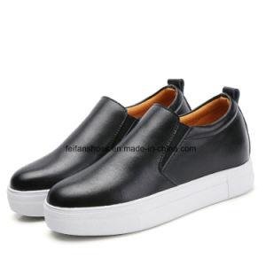 女性の革靴のプラットホームの靴(FTS919-1)の最新のデザイン