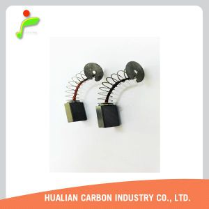 Balai de charbon pour meuleuses d'angle Skil 9176/La cosse ronde de balais de charbon du moteur/pièces de rechange Bosch Power Tools