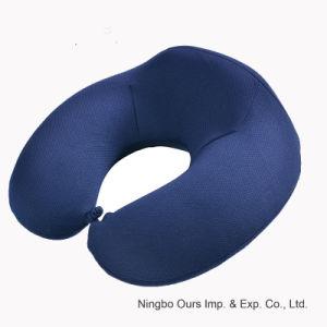 Fornecedor chinês de algodão de Memória Tipo U travesseiro Almofada de pescoço de Viagem