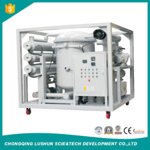 Zja-Serie T de Extra Alta Tensión purificador de aceite del transformador de vacío