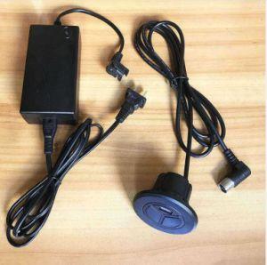 Actuator van de Stoel van de Massage van Rokol de Levering van de Wisselstroom van de Convertor van de Stop van de Macht van de Contactdoos van de Elektrische Lineaire LEIDENE van de Motor Last van Backlight USB 9V