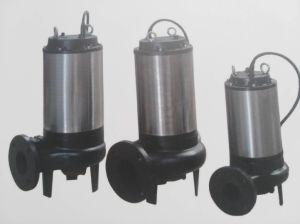 Wqj che taglia la fabbrica sommergibile della pompa per acque luride diretta
