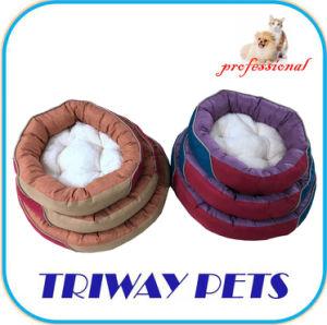 La Ronda de felpa suave PV perro gato WY180318-1Camas (A/C)