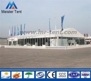 De waterdichte en Vuurvaste Grote Tent van de Zijwand van het Glas van de Partij van de Markttent van het Huwelijk voor 500-1000 Mensen