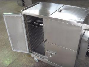 Thr-FC002 Dîner de chauffage électrique Chariot utilisés dans les hôpitaux