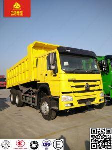 砂および石のためのHOWO 6X4 30ton 40tonのダンプトラック