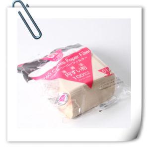 Filtreerpapier van de Stempel van de Hand van de Machine van het Filtreerpapier van de koffie Het Niet gebleekte Kegelvormige Amerikaanse