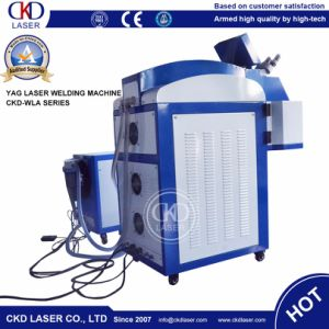 De Machine van het Lassen van de Laser van de Vlek YAG van de Batterij van de Juwelen van de Ketting van het Been van de Voet van de hand