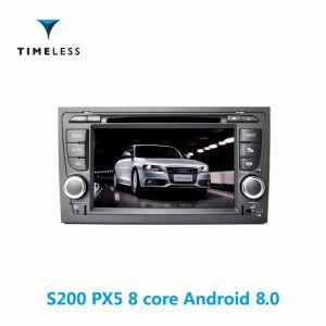 Android Timelesslong 8.0 Plataforma S200 2DIN AUTO-RÁDIO LEITOR DE DVD para o Audi A4 / construído em Carplay (TID-W050)