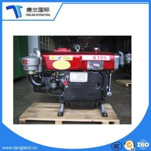 단 하나 실린더 해병 또는 Agri 또는 발전기 또는 펌프 또는 선반 또는 갱내수 냉각된 디젤 엔진