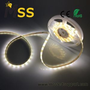 6W, 60PCS/LED 3528M, Blanco tira flexible de LED de PCB