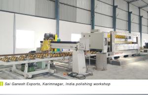 máquina de polir Laje totalmente automática de mármore e granito- preço baixo China Linha Politriz Pedra