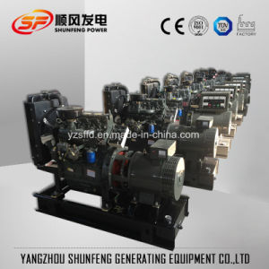 Generatore silenzioso insonorizzato del diesel di potere di 20kw Weichai Ricardo