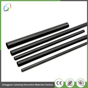 Suministro de la fábrica de mejor venta 60mm tubo flexible de fibra de carbono