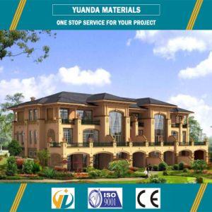 저가는 스리랑카에 있는 가벼운 계기 강철 프레임 모듈 건물 또는 조립식 Prefabricated 집 별장을 주문을 받아서 만들었다