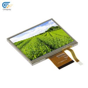 6: 00 de los ángulos de visualización Pantalla TFT LCD Monitor de Control Industrial