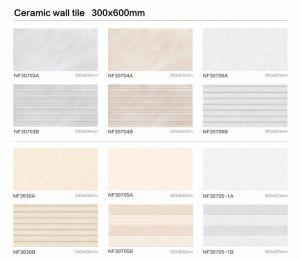 bouwmateriaal van 300X600mm Verglaasde de Binnenlandse Ceramische Tegel van de Muur (6318-1)