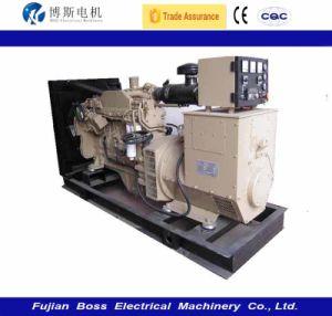 50Hz 536kw 670kVA Wassererkühlung-leises schalldichtes angeschalten durch Cummins- Enginedieselgenerator-Set-Diesel Genset