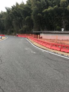 Tráfego rodoviário de plástico hidráulicas de Barreira Barreiras rodoviárias
