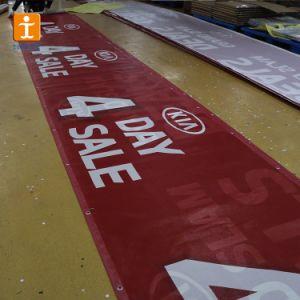 フルカラーの耐久ポリエステル網の旗の印刷