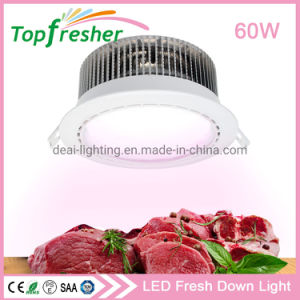 Modelo exclusivo 8 Polegada 50W LED rebaixada baixar para o supermercado