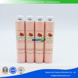 30ml envases cosméticos de lujo Crema Facial Crema de manos del tubo de Embalaje Flexible tubo de aluminio plegable