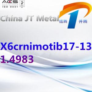 X6crnimotib17-13 1.4983 de Staaf van de Pijp van de Plaat van het Roestvrij staal, de Leverancier van China