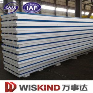 La Junta Isoking EPS/PU/Panel de lana de roca para la estructura de acero de materiales de construcción