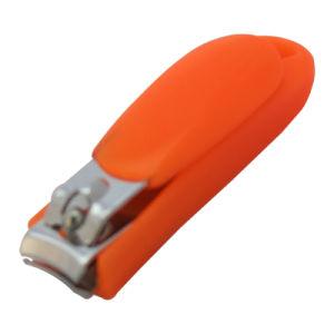Koolstofstaal met Clipper van de Spijker van de Vanger van de Schoonheid Plastic Midden (608S-5)