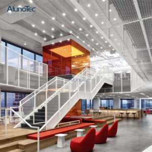 Personnaliser la décoration 3003 Surface de feuilles en aluminium de gaufrage motif de grille
