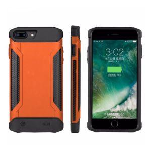 La defensa a los golpes de batería Triple slim case para iPhone 6/6s/7/8plus 5000 mAh la contraportada de los casos de carga