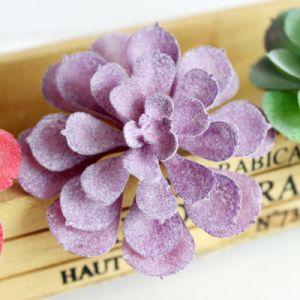 Magic фиолетовый искусственного цветочный декор дома головки блока цилиндров