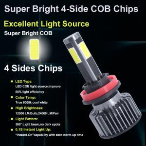 X3 S1 G4 de 4 lados Cabezal LED lámpara con luces LED COCHE