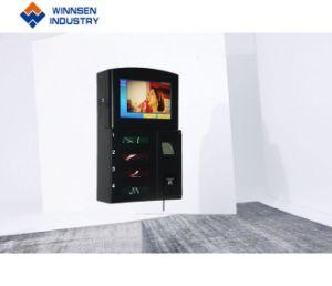 Freie Reklameanzeige-Bildschirmanzeige-beweglicher Ladung-Kiosk