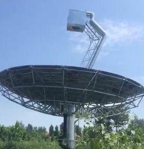 Csp plato parabólico tipo colector solar térmico con GPS de seguimiento de 10 a 20 Kw de potencia