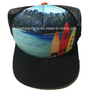 OEMはロゴによって刺繍された綿のあや織りのスポーツの網のトラック運転手の野球帽をカスタマイズした