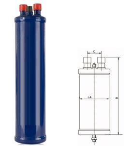 5/8  di separatore di olio del condizionamento d'aria