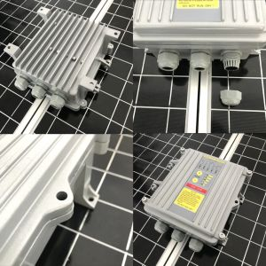 3inch 48V 600W Zonne Diepe goed Pomp, de Pomp van de ZonneMacht met Controlemechanisme MPPT
