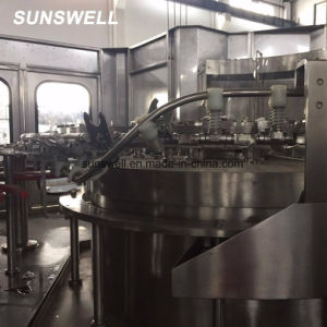 Автоматическое заполнение промывки воды розлива Capping машины 3-в-1 в моноблочном исполнении