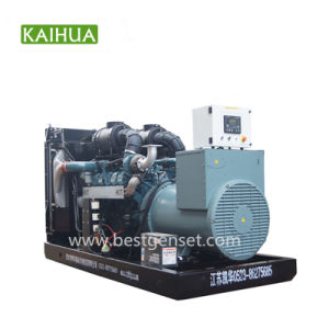 diesel 500kVA/400kw Doosan Macht die Reeksen met Alternator Meccalte produceren
