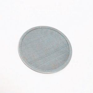 Filtro de aço inoxidável durante todo o disco de malha de arame